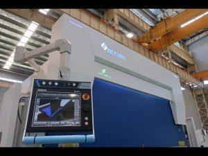 8-teljeline CNC hüdrauliline vajutuspidur 110 ton 3200 mm