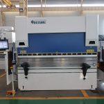 WC67K 500T / 4000mm cnc hüdrauliline roostevabast terasest vajutuspidur, kõrge efektiivsusega lehtmetalli painutusmasin