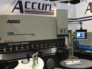 Accurl osales 2016. a Chicago tööpinkides ja tööstusautomaatika näitusel