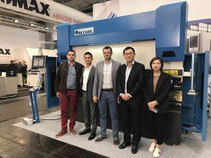 Accurl osales 2017. aastal Saksamaal Hannoveri rahvusvahelisel masinatööstuse näitusel