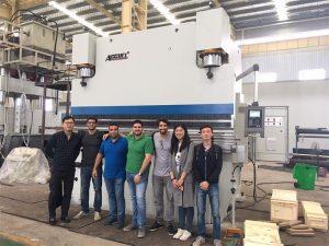 Brasiilia kliendid külastavad tehaseid ja ostavad pihustite