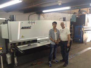 Küprose kliendi külaskäik Pidurimehhanism ja raketismasin meie tehases