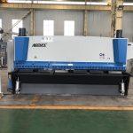 Hüdrauliline giljotiini lõiketöömasin 3200 mm x 8 mm koos pneumaatilise materjali toega