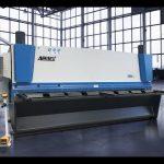 Hüdrauliline giljotiini nihutussüsteem MS8 8x4000mm koos Saksamaaga ELGO P40T puutetundlik CNC