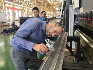 Iraani kliendi testimismasin meie tehases 2
