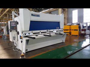 Master Variable Rake Giljotiini nihke masin koos ELGO P40T CNC süsteemiga