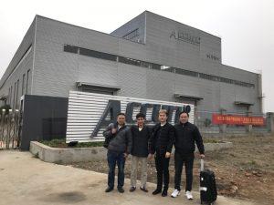 Venemaa kliendid külastavad meie tehases kahekordset ühenduslüli masinat