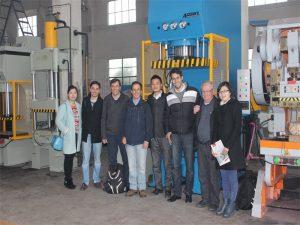 Peruu delegatsioon külastas meie tehast ja ostavad masinaid