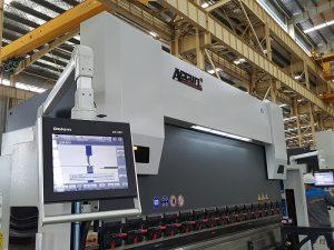 Delem DA52 hüdrauliline painutusmasin, täpne positsionaalne horisontaalne piduripedaali hind, CNC-nurkraud