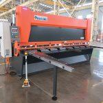 QC11y K-4X2500 lehtmetallist terasest hüdrauliline giljotiini lõikamismasin rauast alumiiniumist lõikamiseks