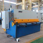 QC11y-16X3200 cnc lõikamine roostevabast terasest automaatne hüdrauliline raudplaat giljotiini lõikur masin E21