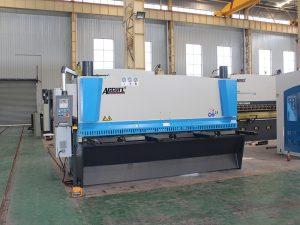 QC11y-8 * 3200 hüdrauliline lõikur masin müügil cnc kontrolli