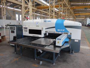 CNC turret mulgustamiseks masin, automaat auk mulgustamiseks masin, CNC punch press hinnaga