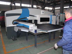 servo jõuallikas ja kasutatud amada cnc turret punch press