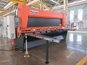 kuum müük QC11K CNC hüdrauliline giljotiini lõikur masin