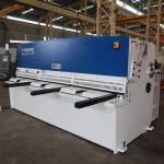 kõrge lõikamise täpsus QC12Y 4 × 2500 lehtmetalli lõiketöömasina terasplekk hüdrauliline niitmismasin
