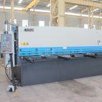 CE hüdrauliline giljotiin, cnc hüdrauliline lehtmetalli lõikur masin tehase kuum müük