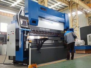 raskeveokite CNC elektriline-hüdrauliline osa vajutage pidurit