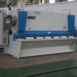 QC11Y cnc hüdrauliline nihke masin, terase CNC nihutamise masin, metallist lehe nihke masin