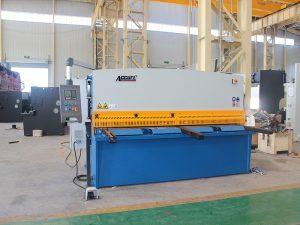uus disain hüdraulilise nihutusega giljotiini masin, giljotiini nihutamise masin