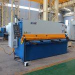 väike lõikamismasin, QC12y- 4X2500 hüdrauliline metallplaadi lõikamismasin